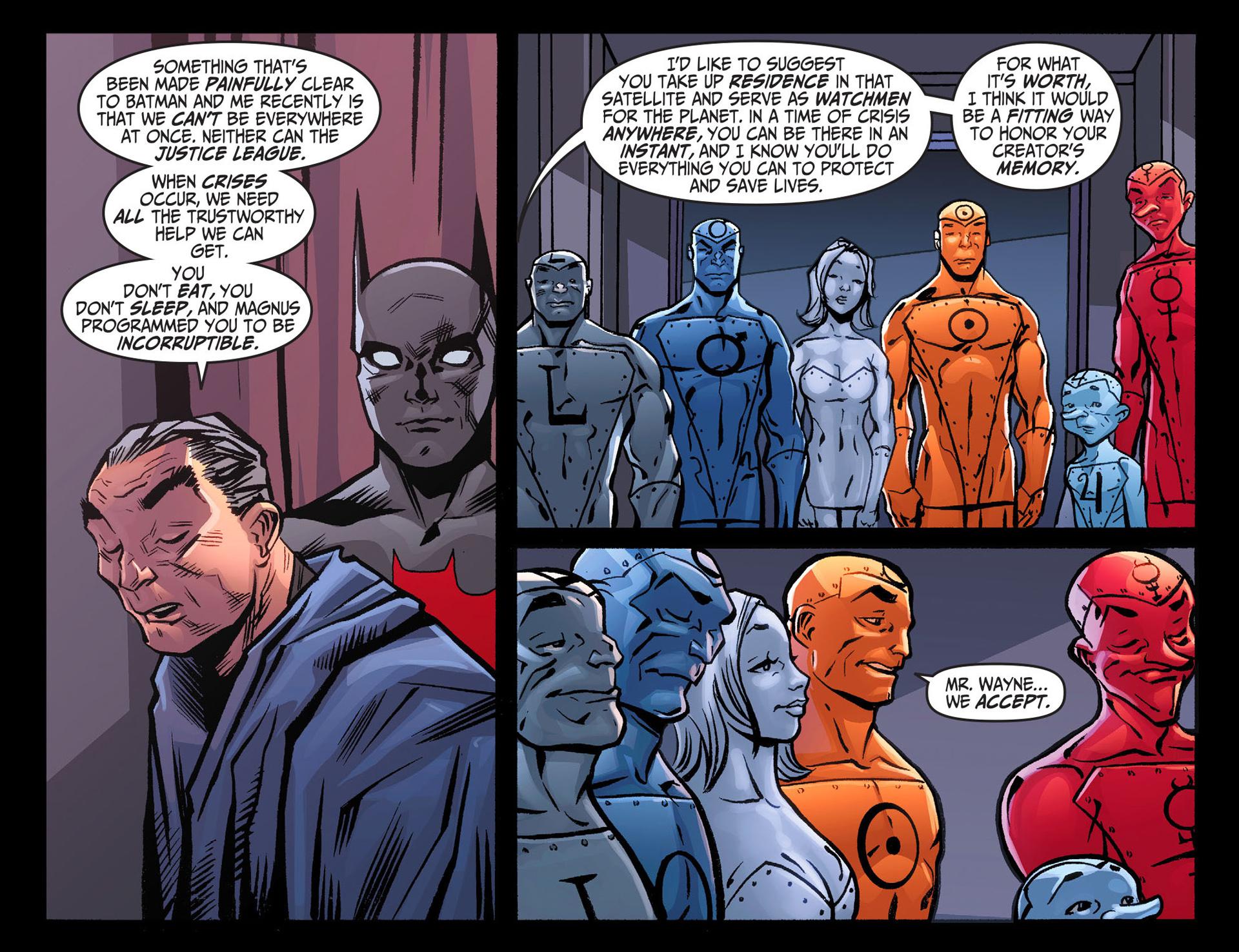 Batman Beyond (2012) Issue #26 #26 - English 15