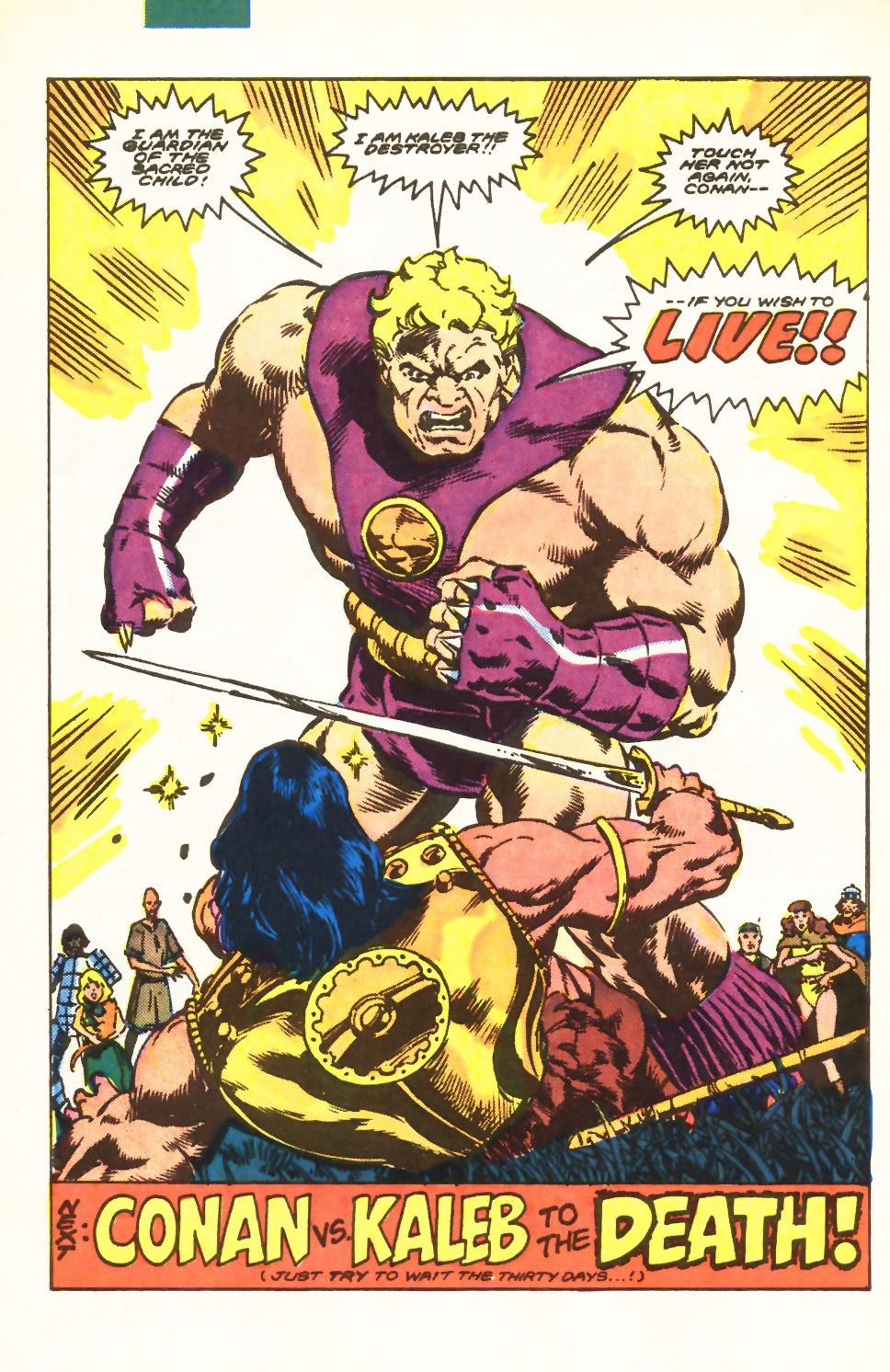 Conan the Barbarian (1970) Issue #198 #210 - English 21