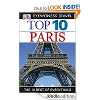 Eyewitness Top 10 Travel Guide Paris by Mike Gerrard £2.99