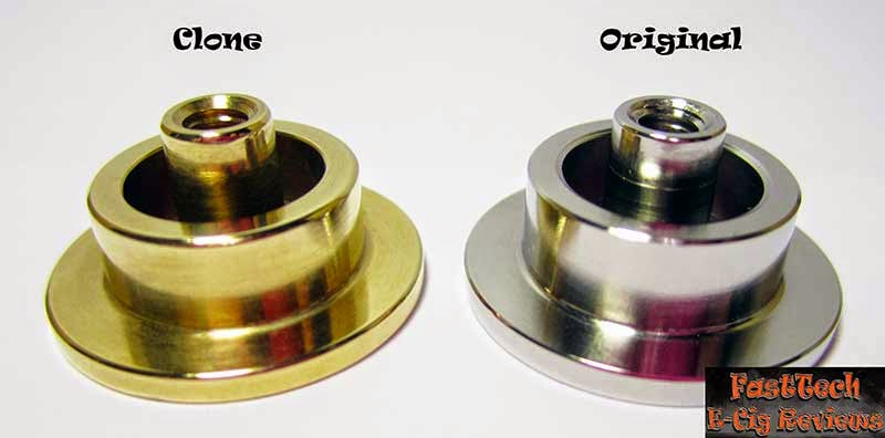 Caravela clone button part comparison to original caravela