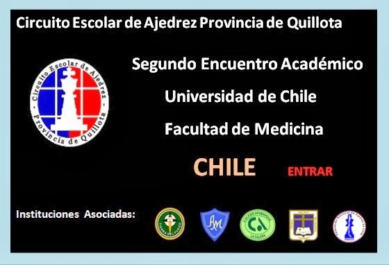SEGUNDO ENCUENTRO ACADEMICO AJEDRECISTICOS LA CALERA CHILE 2012