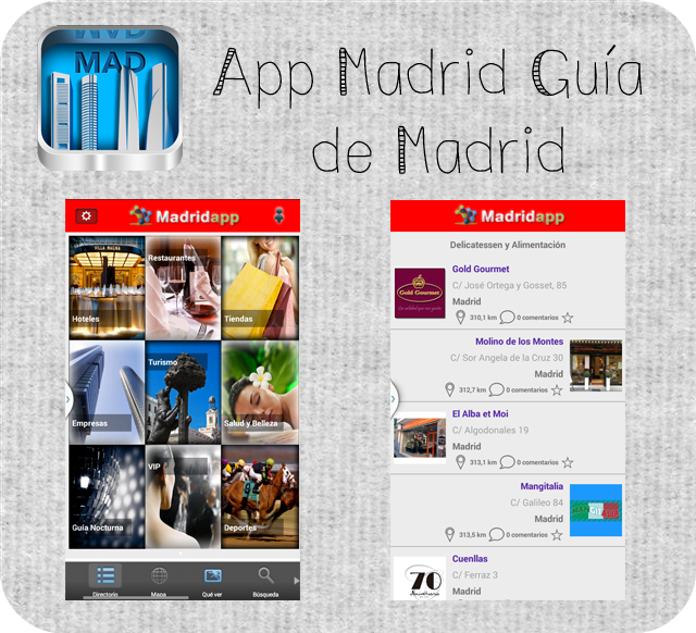 App Madrid Guía de Madrid