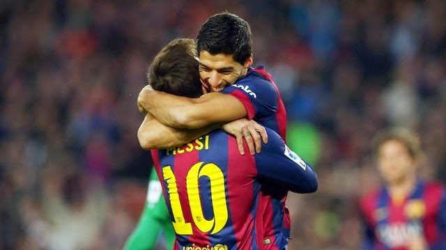 Barcelona vs. Levante 5-0 Highlight Goal Liga BBVA 15-02-2015