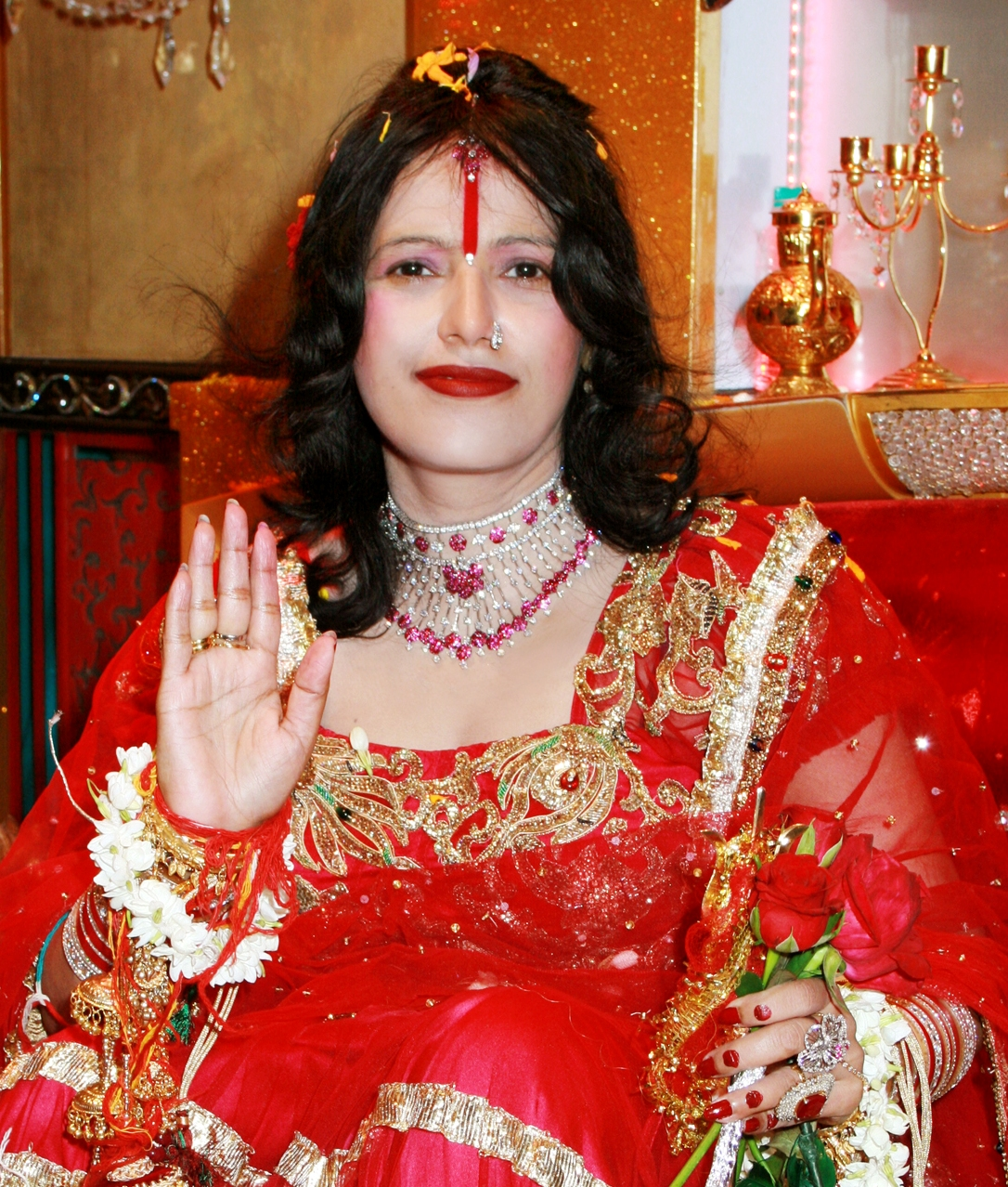 Shri Radhe Maa is addressed as Devi Ma by all her devotees including ...