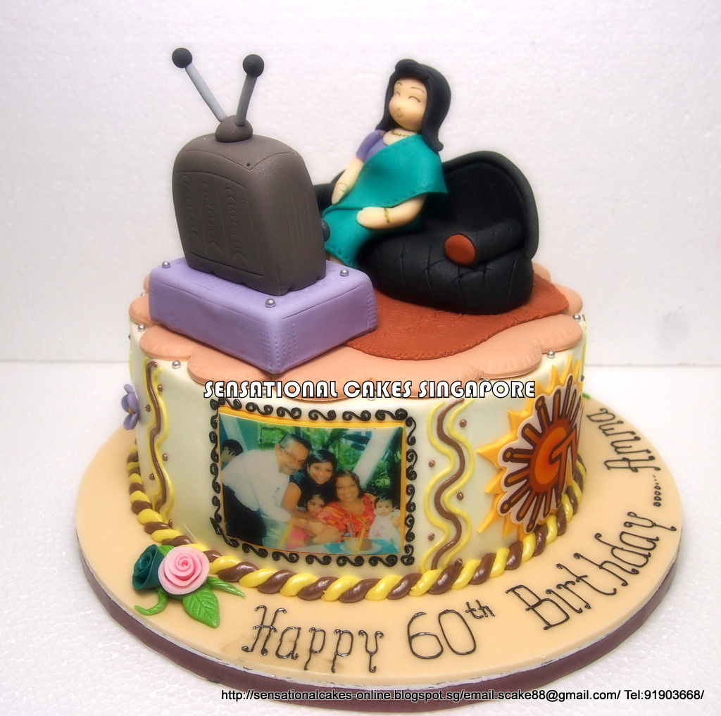 The Sensational Cakes: SPECIAL CUSTOMIZED CAKE FOR GRANDMA ...