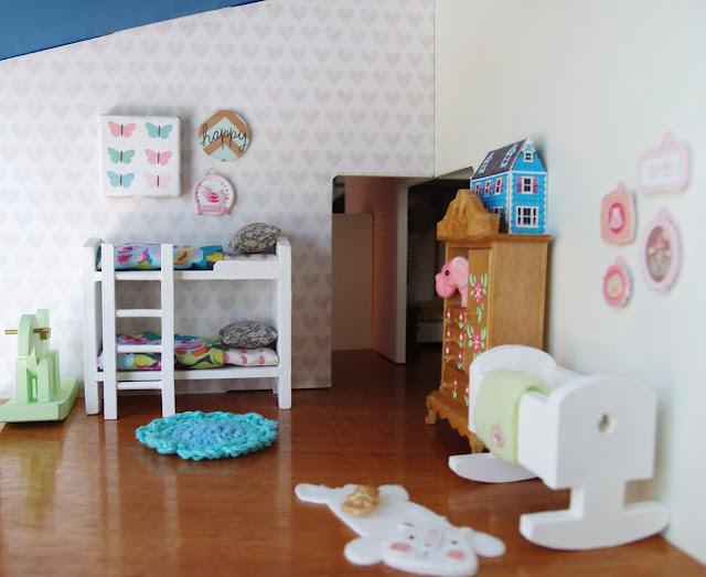 Dollhouse nursery