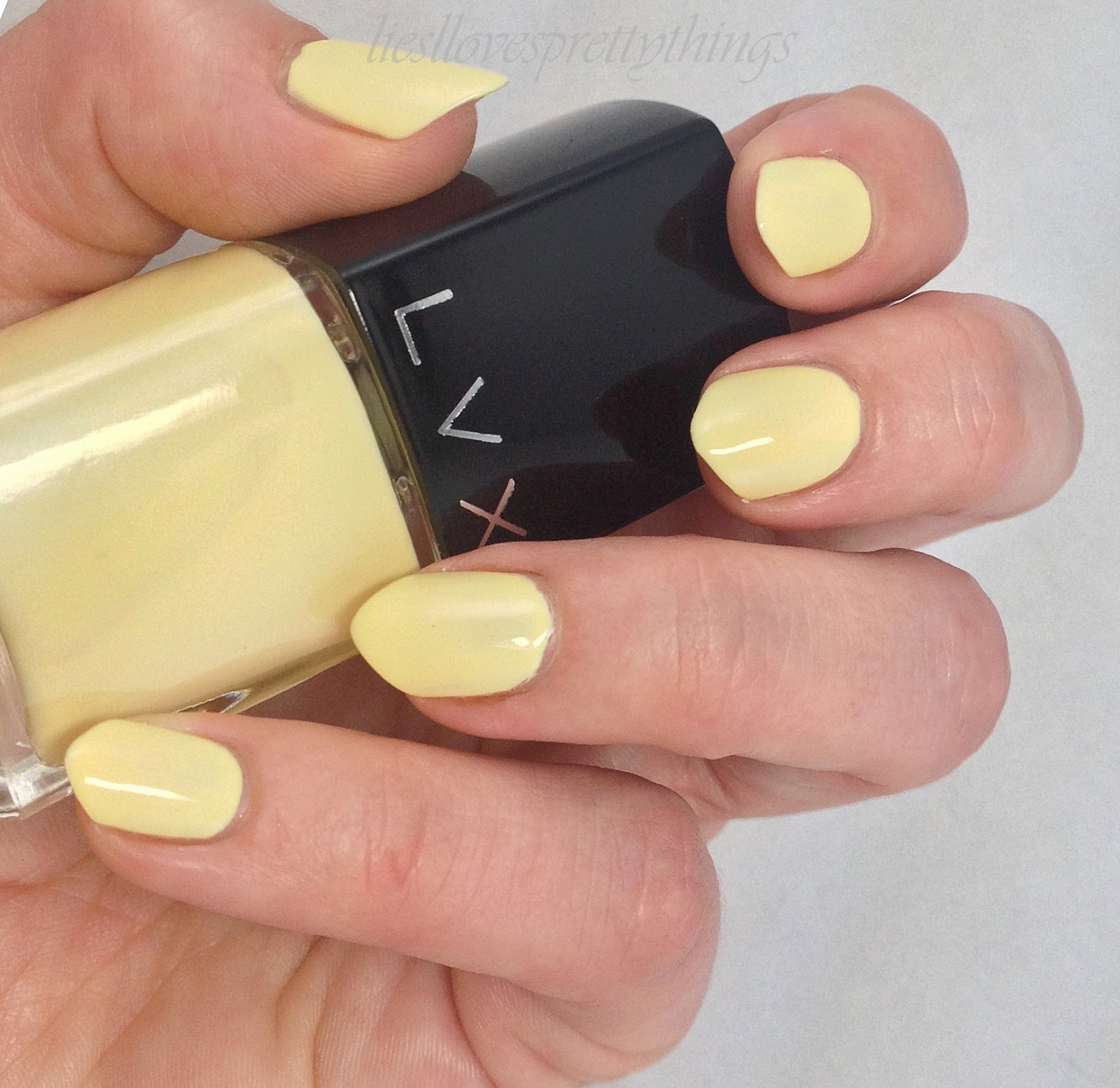 LVX Summer 2014 Collection Lemondrop swatch and review