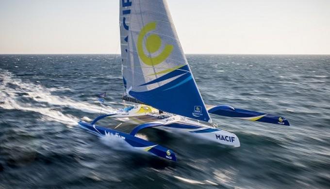 transat jacques vabre 2015 macif trimaran leads catamaran racing news design