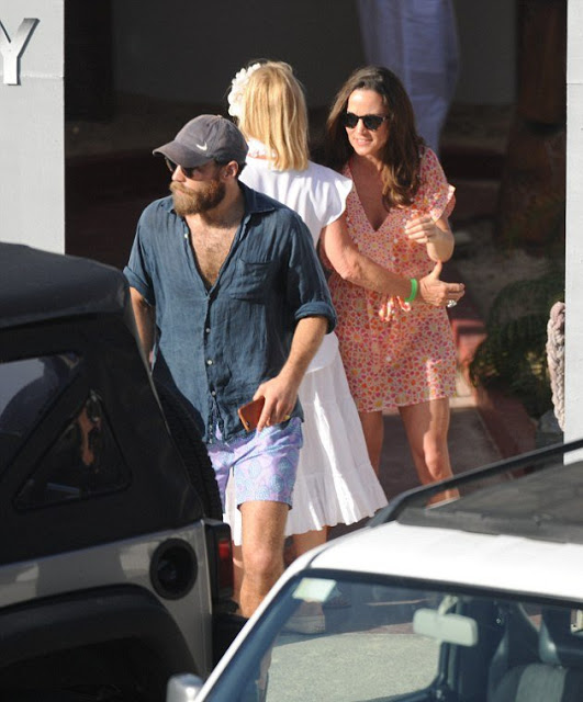 Pippa Middleton And James Celebrated The New Year In St Barts