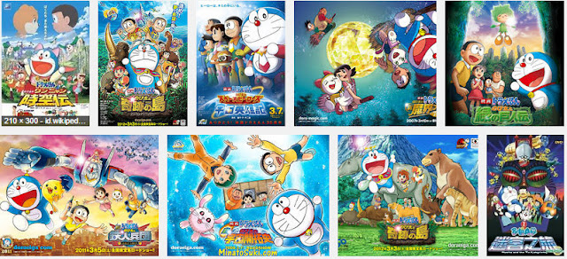 Download seri petualangan Doraemon The Movie Lengkap
