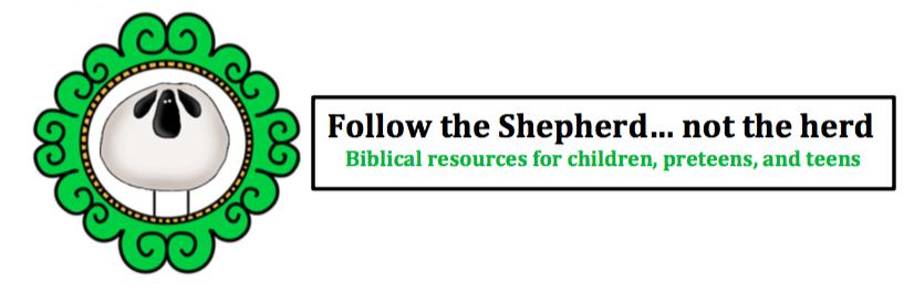 Follow the Shepherd not the herd