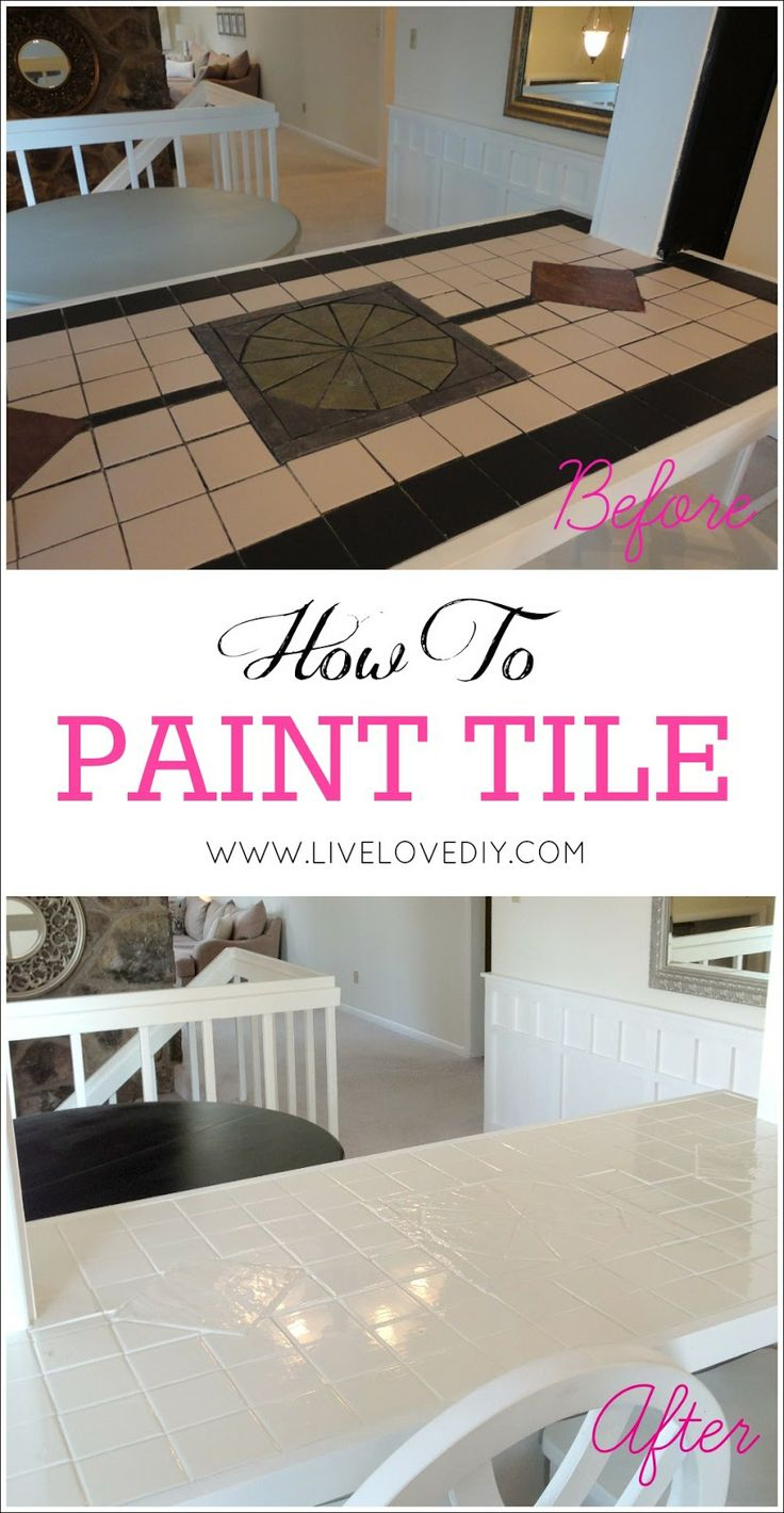 50 amazing budget decorating tips everyone should know i for How to paint tiles bathroom