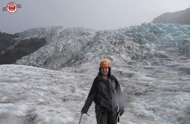 Excursin con crampones en glaciar Fallsjkull, Islandia