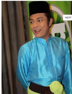 Gambar Aznil Nawawi Sambut Hari Raya Aidilfitri Di Konti Radio Era FM
