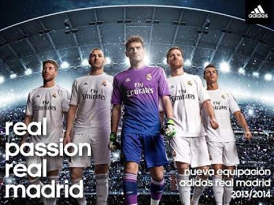 Foto Seragam Real Madrid Jersey 2013 2014 Foto Kostum Jersey Real Madrid Terbaru 2013 2014