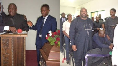 kenny ogungbe crying goldie harvey funeral