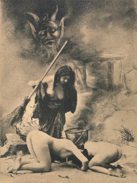 Изображение * Дом Ветров * Мир мистики * из коллекции ВЕДЬМЫ и пр. Старинны