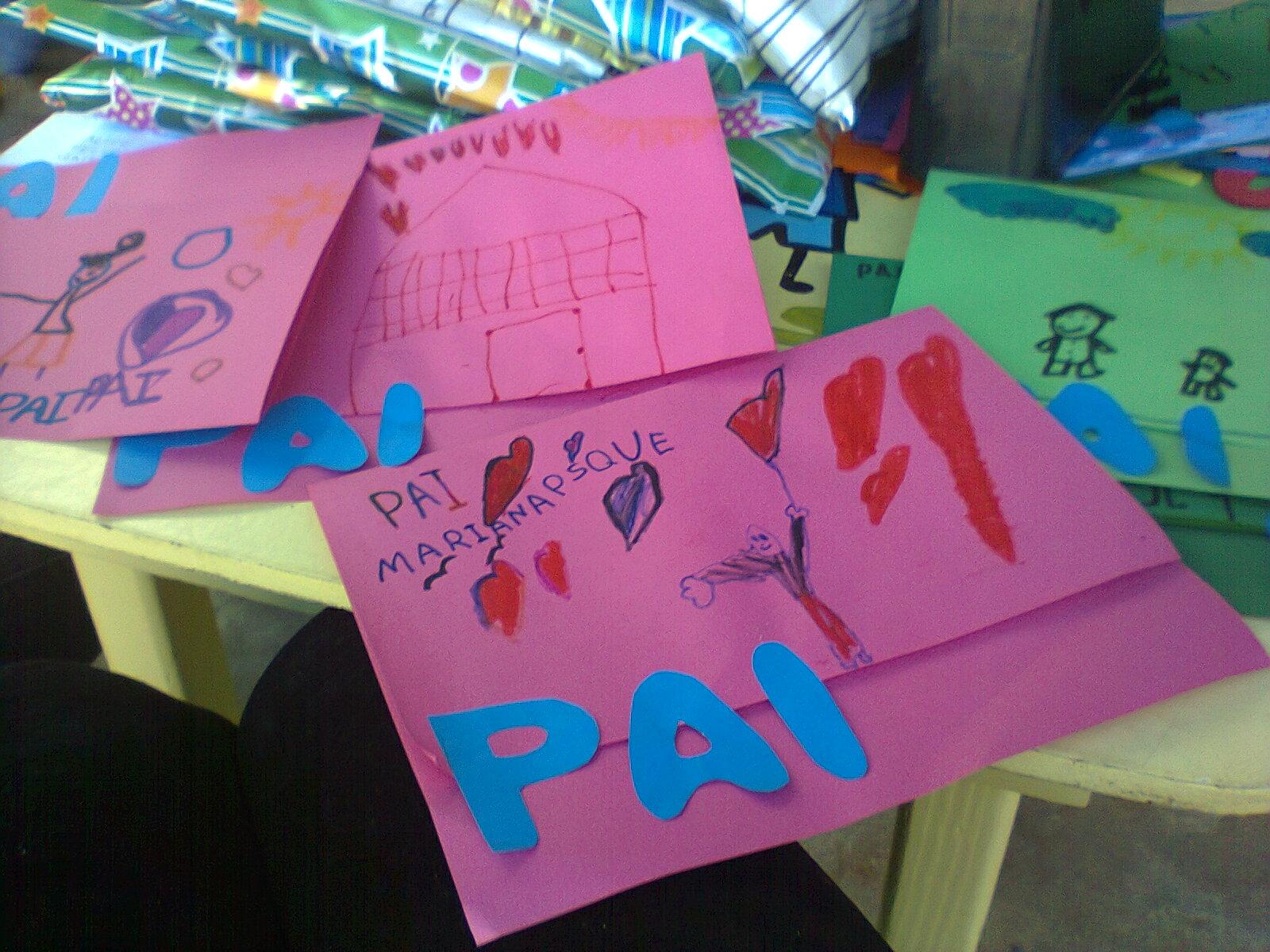 Educação Infantil Cartão Dia Dos Pais