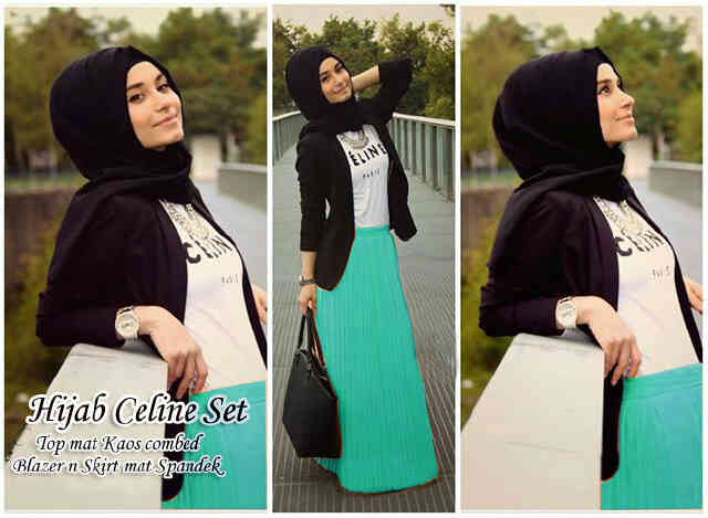 Busana: Baju Hijab Celine Set (BHM-002)
