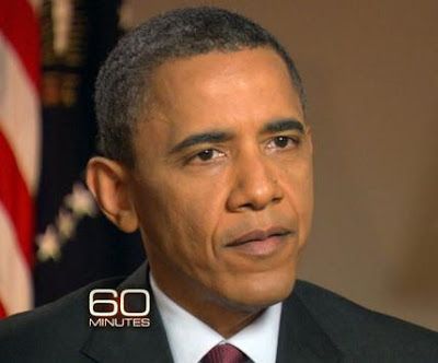 Obama in '60 Minutes' Interview About Bin Laden's hunt
