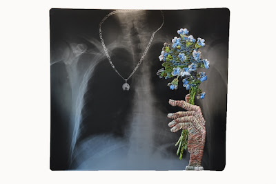 Cool And Creative Embroidered X-Rays Art Pictures by Matthew Cox Seen On www.coolpicturegallery.us