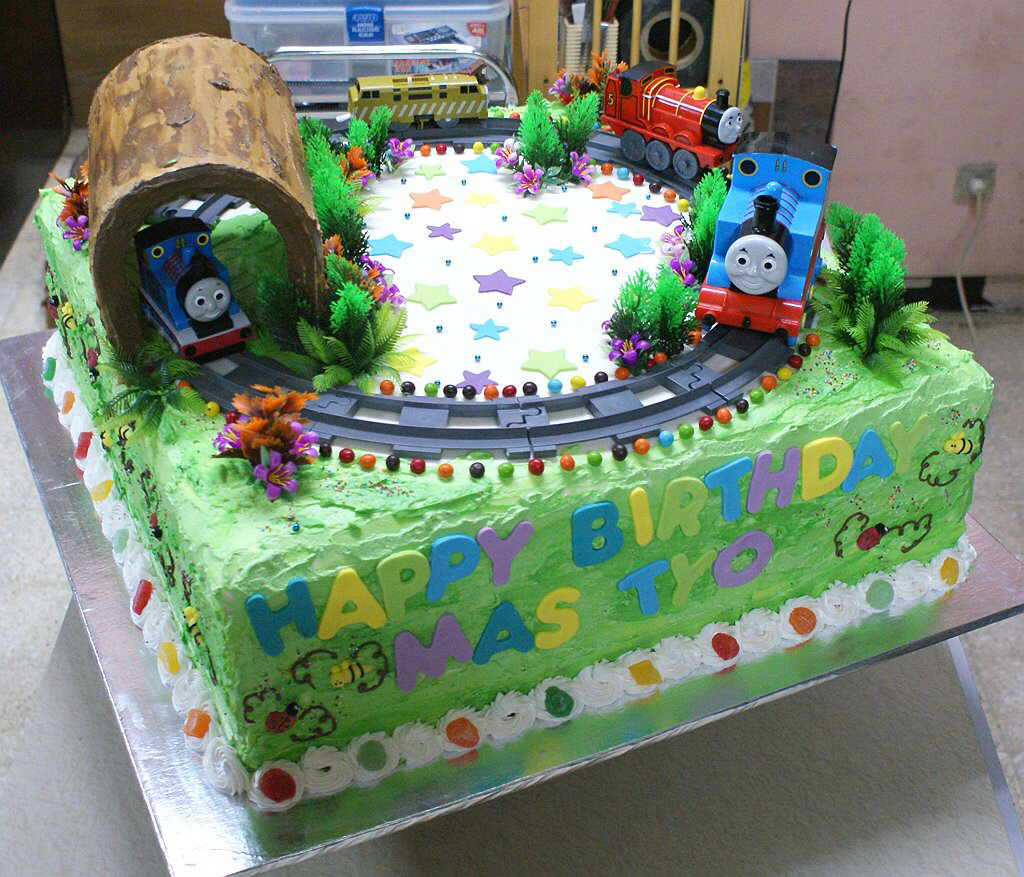 Kue Ulang Tahun Anak Laki