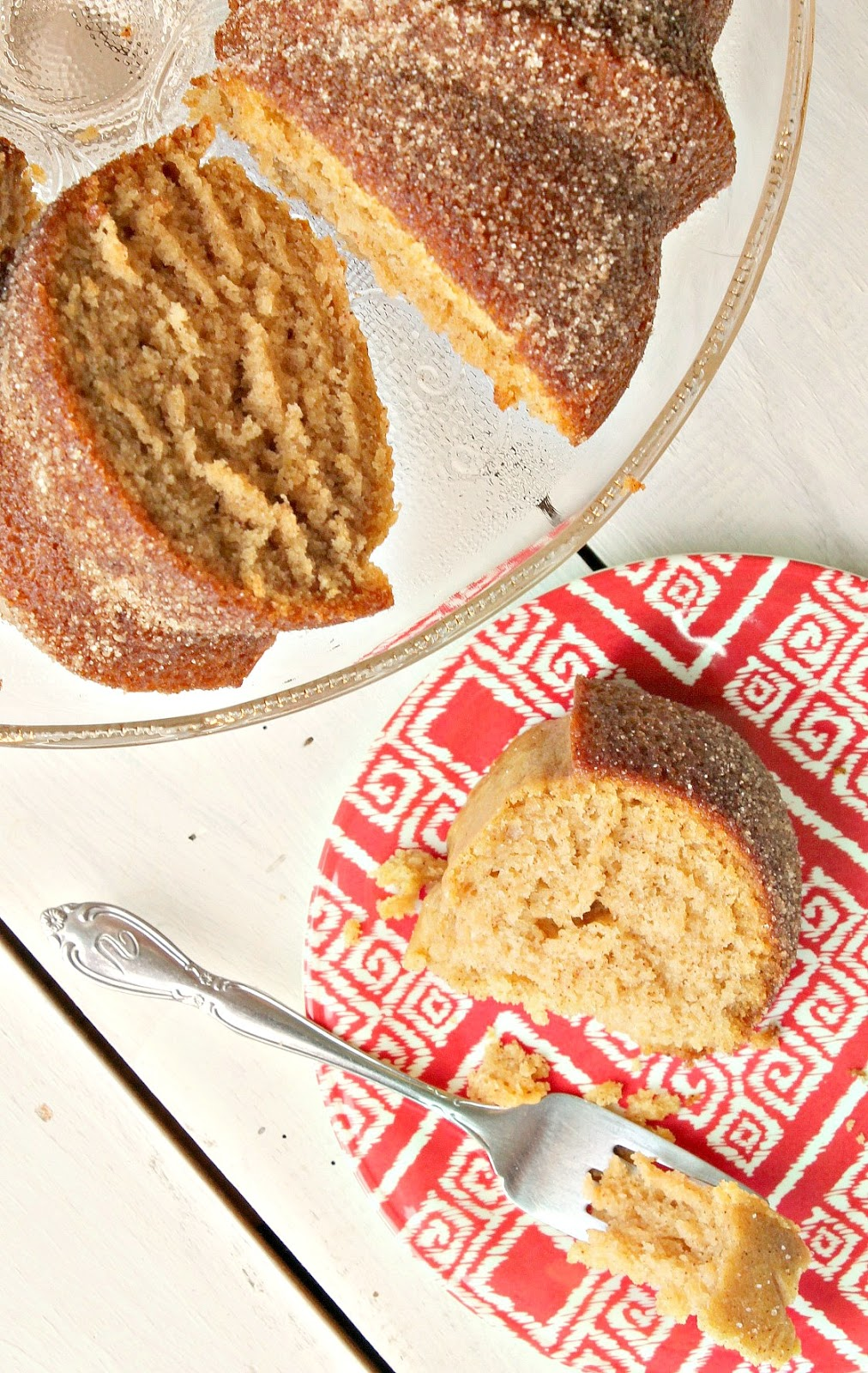 Apple Cider Doughnut Cake
