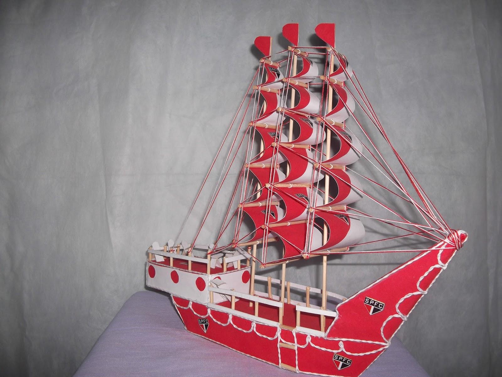 Aparador Campo Grande Ms ~ Artesanatos em geral Barcos Decorados