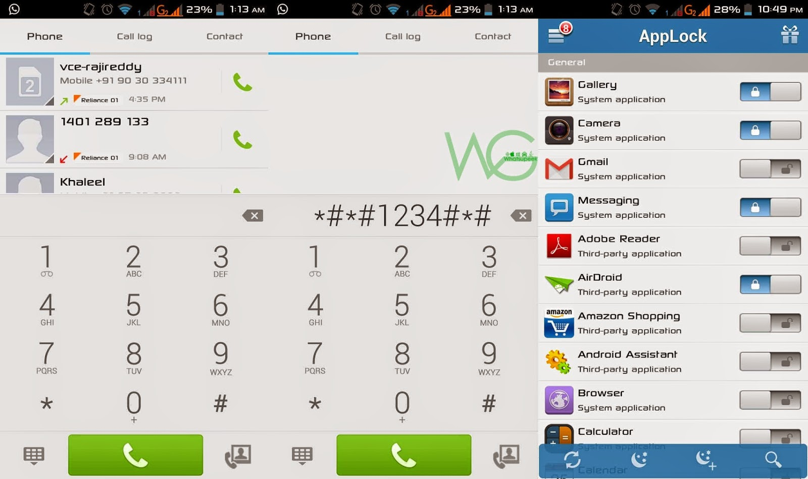 Android tips and tricks to Hide or unhide Applock ~ WHATSUPGEEK