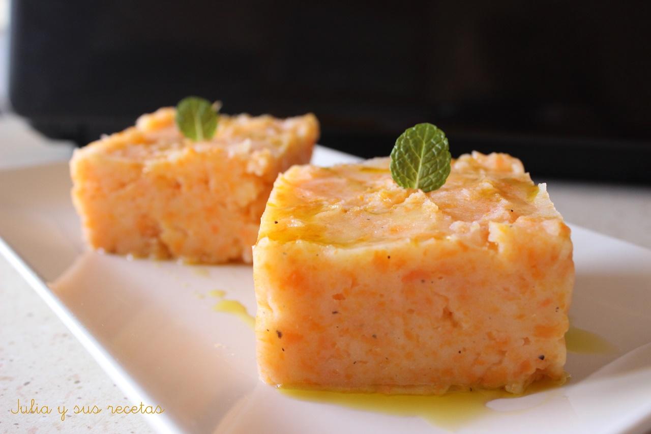Pur de patatas y zanahoria para guarnici n - Pure de patatas y calabaza ...