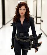 A atriz esteve também no filme Os Vingadores, lançado agora em 2012, .