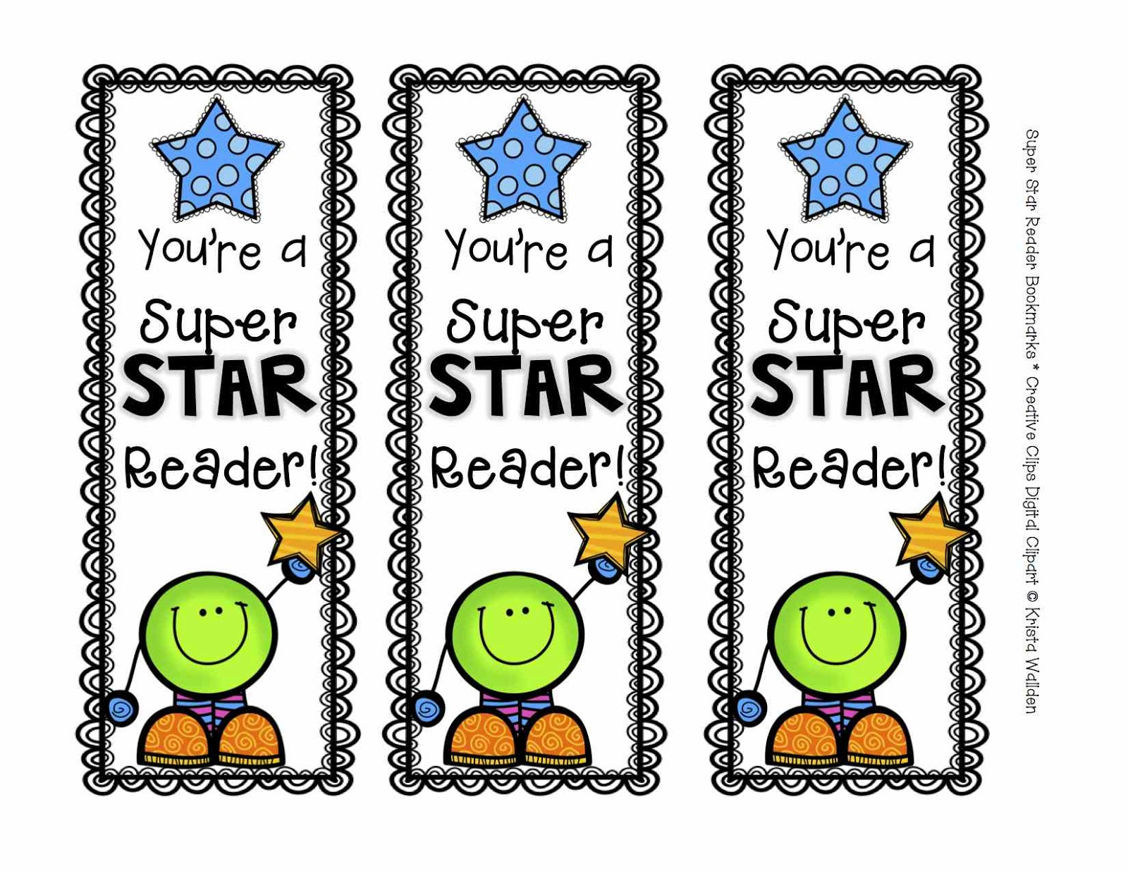 Handy image pertaining to printable bookmarks for kids