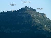 Aproximació fotogràfica a Sant Martí Xic i el Castell de Voltregà