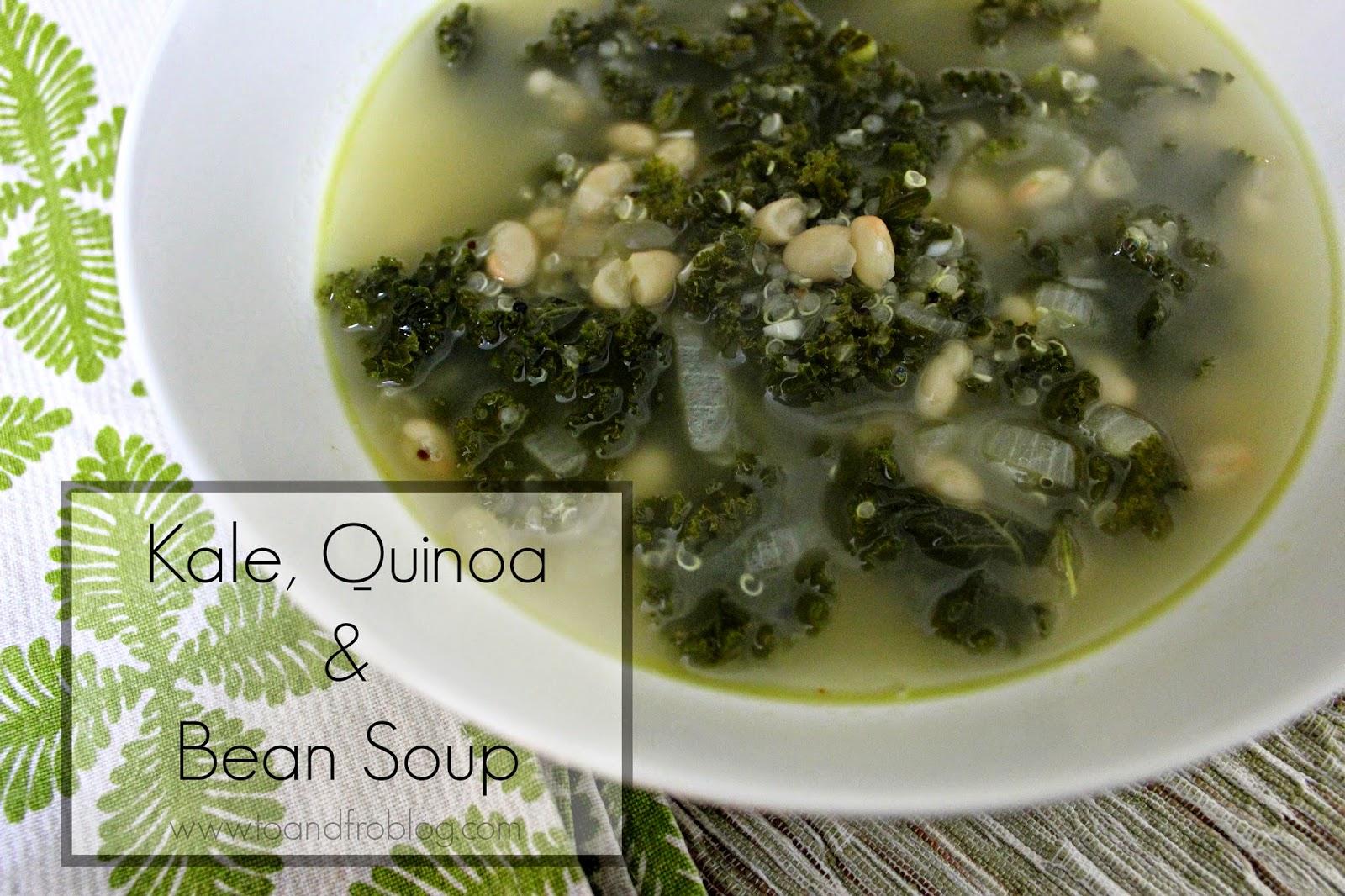 kale, quinoa and bean soup recipe