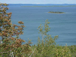 Lake views from Manitoulin Island