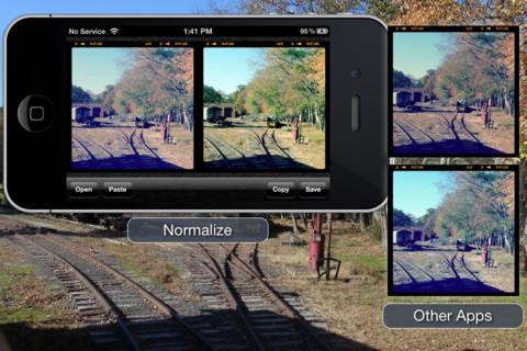 Normalize: تطبيق لإزالة فلاتر انستجرام من الصور