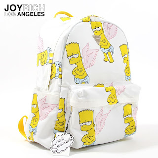 Joyrich x Simpsons World Tokyo collection Bart Angel backpack