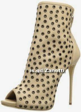 Giuseppe Zanotti Women's Peep Toe Ankle Boot