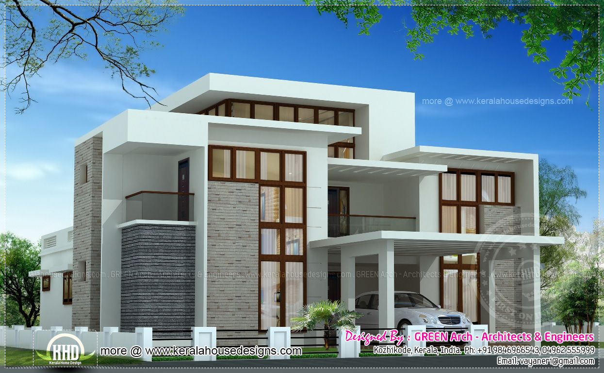 10 different house elevation exterior designs | Home Kerala Plans