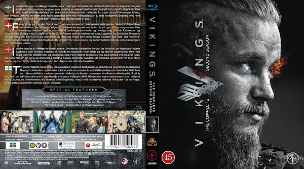 Vikings - Versão Estendida 2ª Temporada Torrent - BluRay Rip 720p e 1080p Dual Áudio 5.1 (2014)