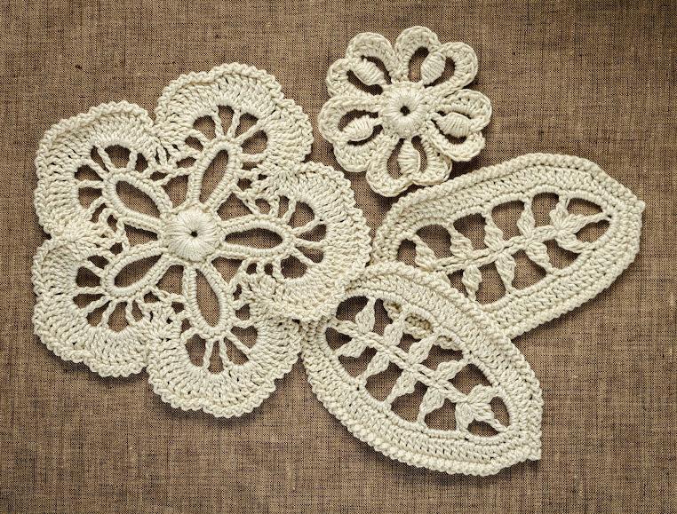 Irish Crochet : Outstanding Crochet: new project - Blouse with irish Crochet ...