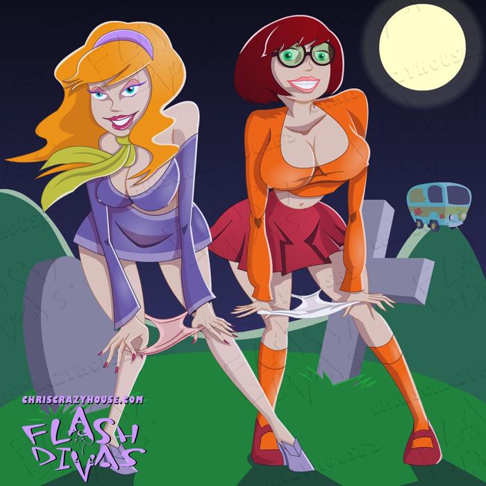 Velma Scooby Doo Daphne Hot