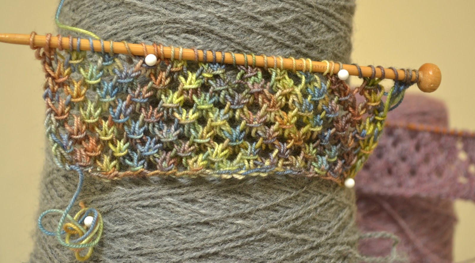 Knitting Novice The Weekly Swatch The Star Stitch
