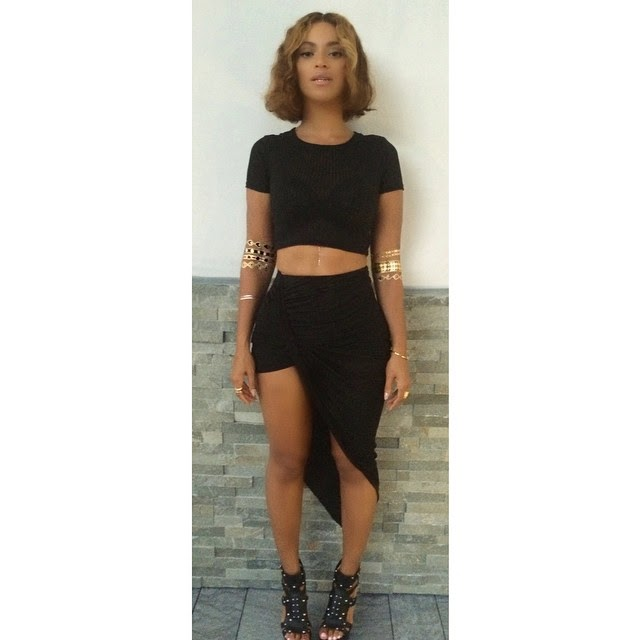 Beyonce Strikes a Pose