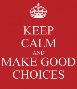 One Autism Mom's Notes: Making Good Choices