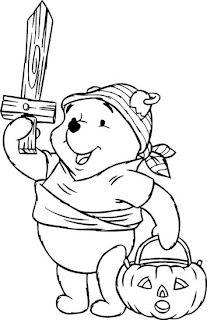 halloween coloring pages line Halloween Coloring Pages