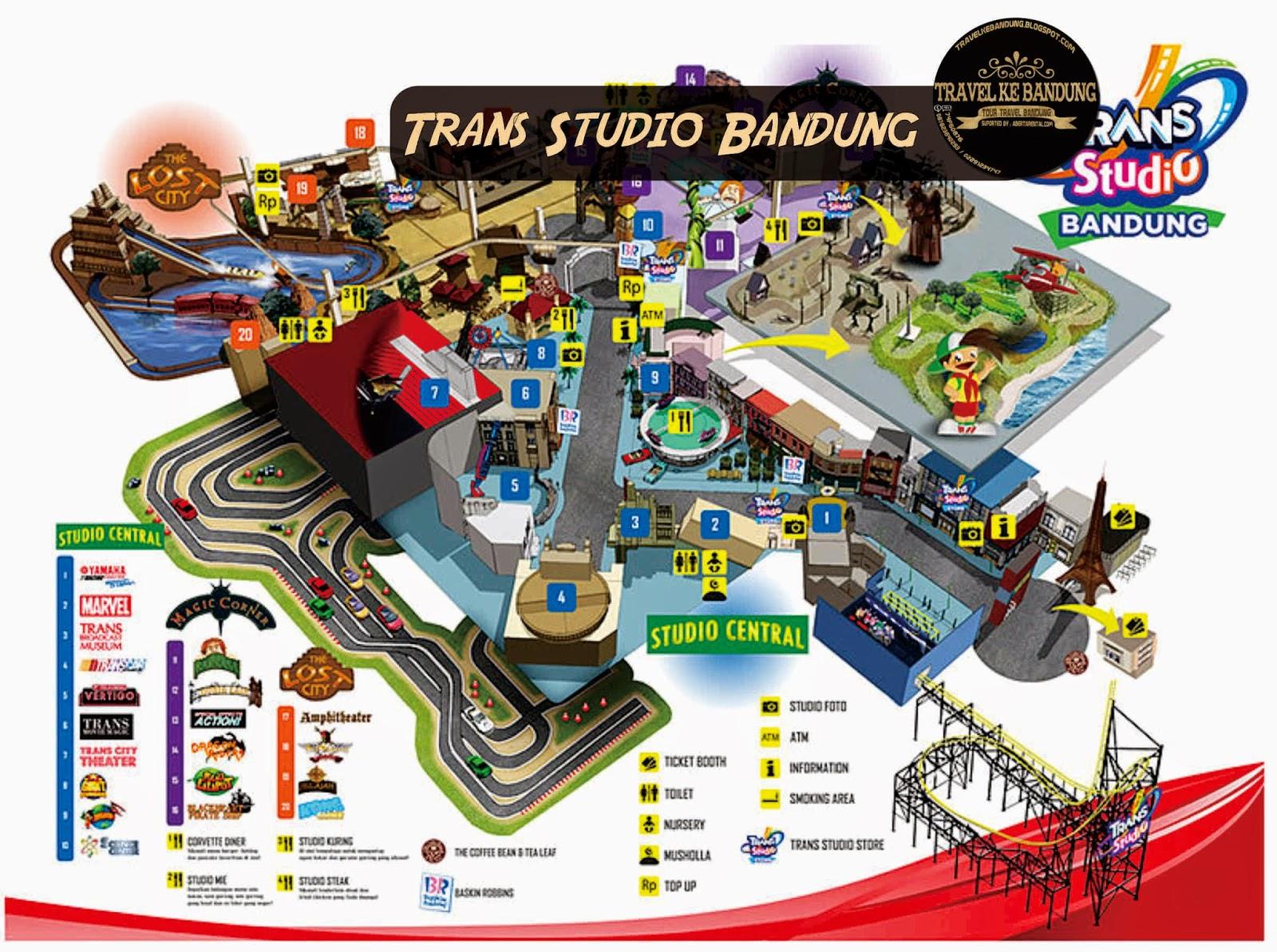 Kawasan Trans Studio Bandung | Tour and Travel Bandung