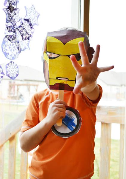 Superhero-Themed Printables