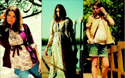 Moda para gravidas - moda gestante - roupas de gravidez