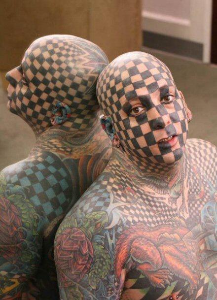 Men tattoo design